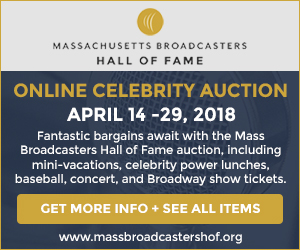 Massachusetts Broadcasters Hall of Fame 2018 Celebrity Auction